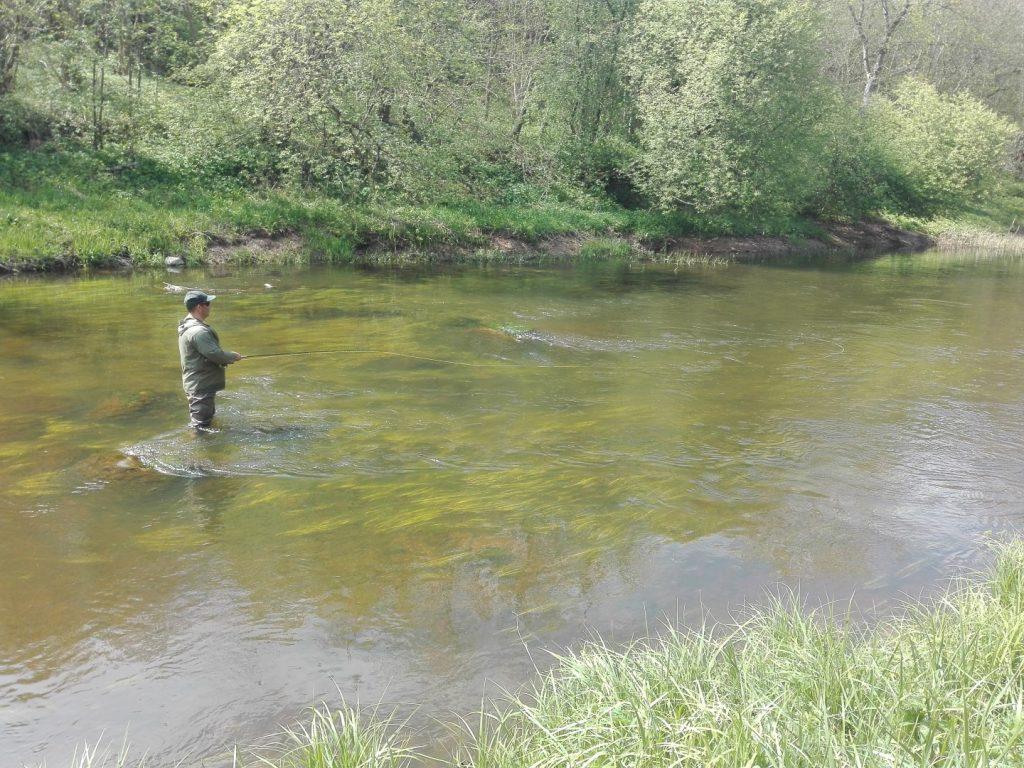 Žvejyba įsibridus