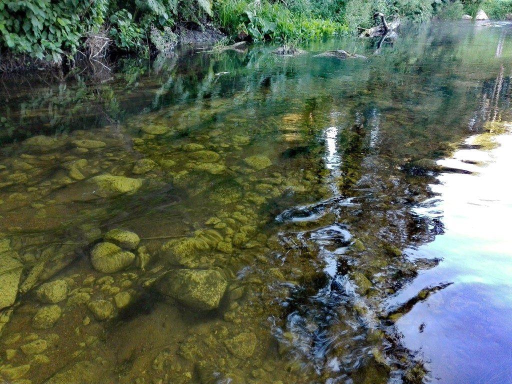 Paslaptingas upės dugnas